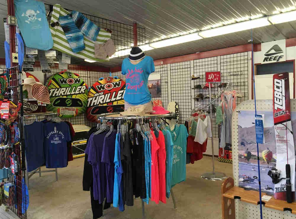 Marina del Sur shop