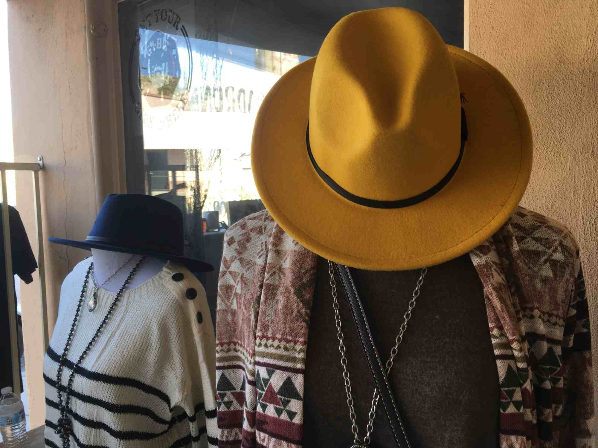 womens hats and fashion ponchos at Rebel Roadrunner, Truth or Consequences