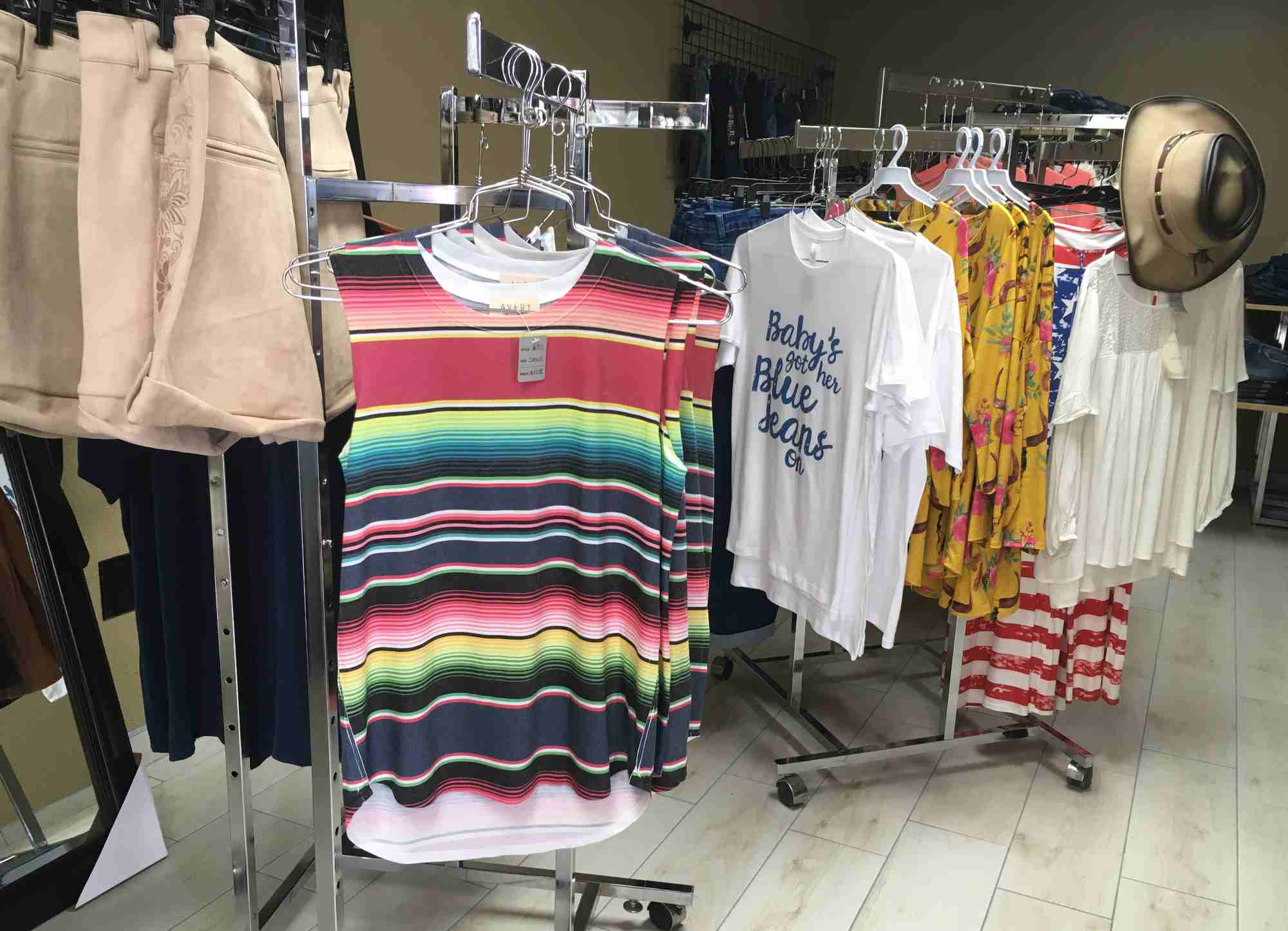 ladies clothing at Western Fix, Truth or Consequences