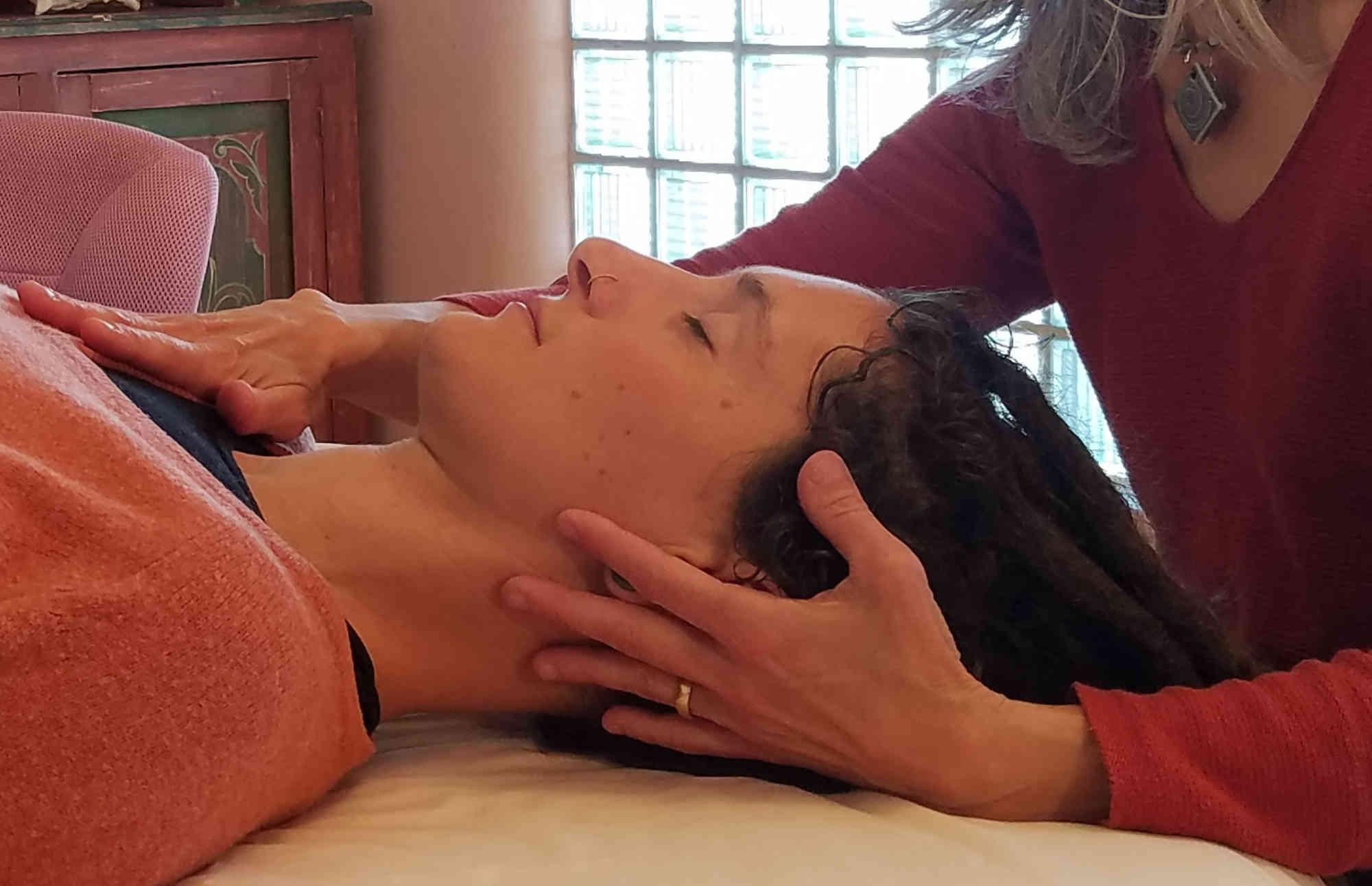 CranioSacral treatment at Rocket Inn
